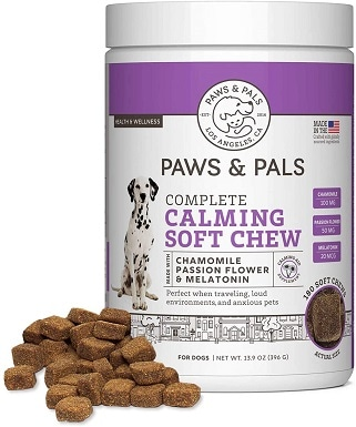Paws & Pals Dog Calming Supplement