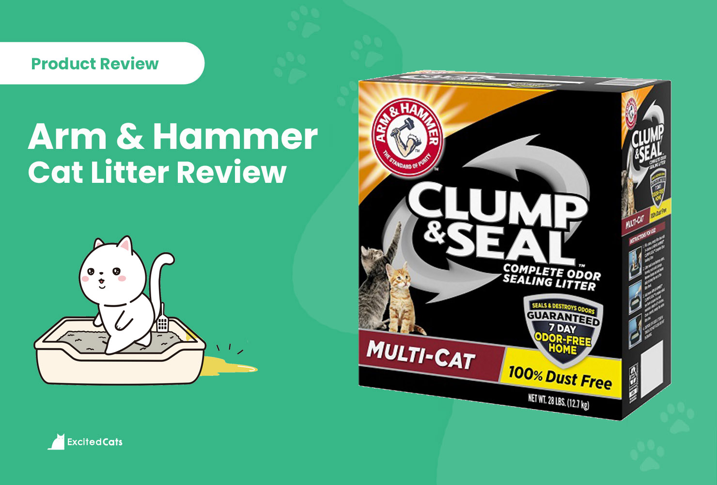 arm and hammer litter review