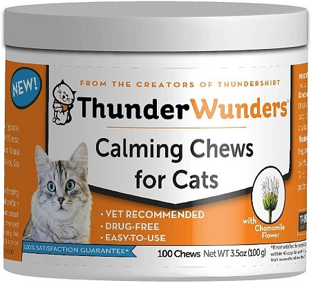 ThunderWunders Calming Cat Chews