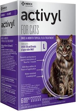 10Activyl Flea Spot Treatment for Cats