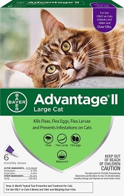 1Advantage II Flea Spot Treatment