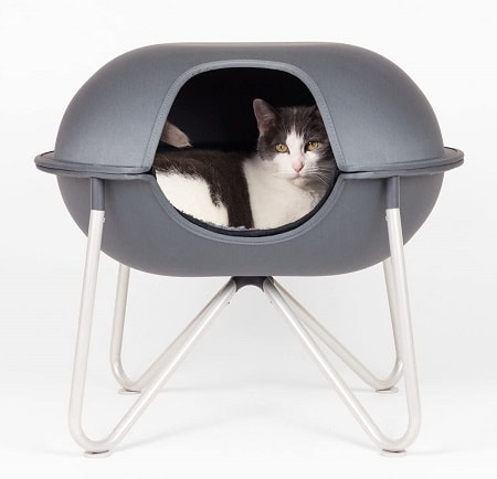 3Hepper - Pod - Modern Cat Bed, Perch, House or Condo