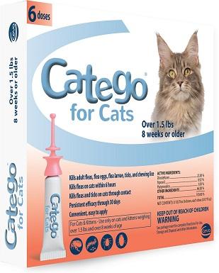 8Catego Flea & Tick Spot Treatment for Cats
