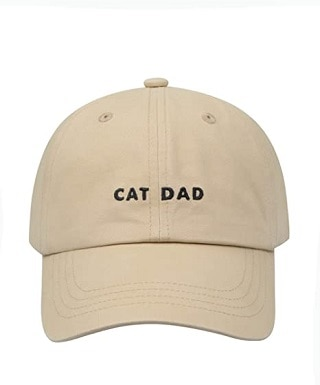 Hatphile 6 Panel Embroidery Dad Hat
