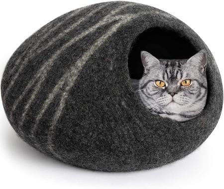 Meowfia Premium Felt Cat Cave