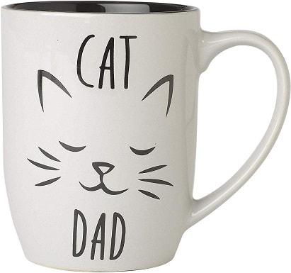 PetRageous Designs Cat Dad Mug