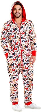 Tipsy Elves Ugly Christmas Jumpsuit