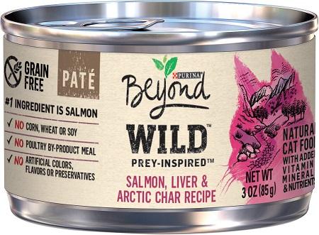 1Purina Beyond Wild Prey-Inspired Grain-Free High Protein Salmon