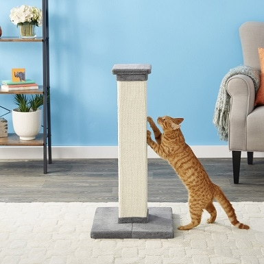 2Frisco 33.5-in Sisal Cat Scratching Post