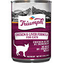 Triumph Chicken 'N Liver Formula Canned Cat Food
