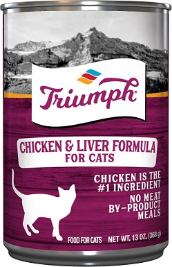 2Triumph Chicken 'N Liver Formula Canned Cat Food