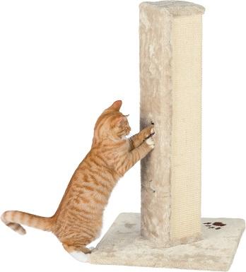 4Trixie Soria 31.5-in Fleece Tower Cat Scratching Post