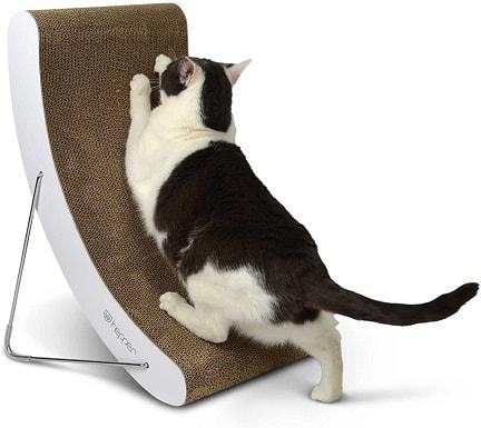 5Hepper Hi-lo Cat Scratcher, A 5 Position Cat Scratching Post