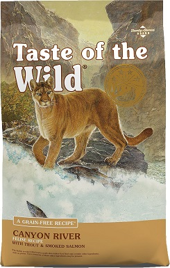 5Taste of the Wild Canyon River Grain-Free Dry Cat Food