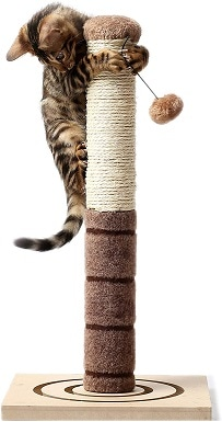 7 4 Paws Stuff Tall Cat Scratching Post Cat Interactive Toys
