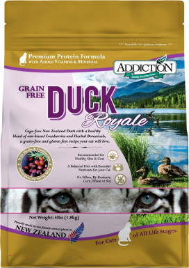 Addiction Grain-Free Duck Royale Dry Cat Food_Chewy