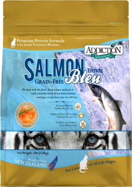 Addiction Grain-Free Salmon Bleu Dry Cat Food_Chewy