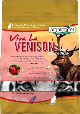 Addiction Grain-Free Viva La Venison Dry Cat Food_Chewy