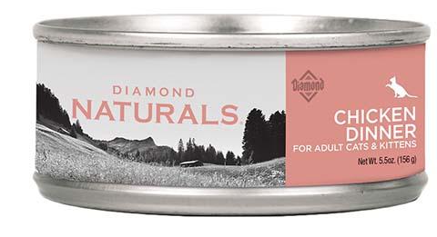 Diamond Naturals Chicken Dinner Adult & Kitten Canned Cat Food