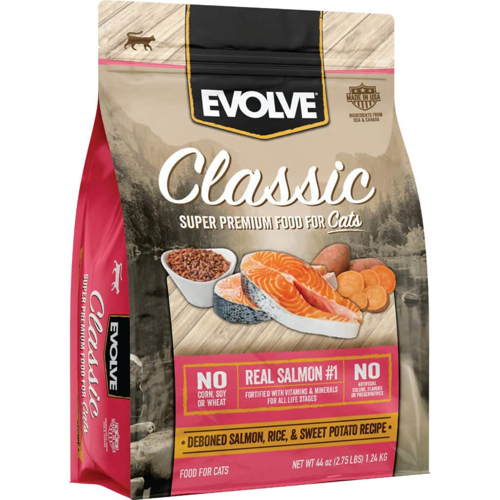 Evolve Classic Deboned Salmon, Rice & Sweet Potato Formula Dry Cat Food