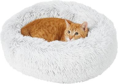 Frisco Eyelash Cat Bolster Bed