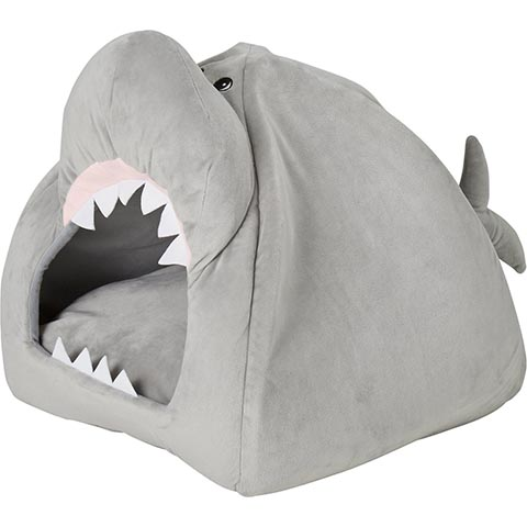 Frisco Novelty Shark Covered Cat & Dog Bed