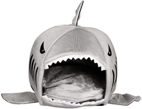 HUIFENG Shark Cat Bed