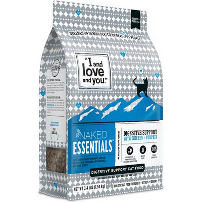 I and Love and You Naked Essentials Digestive Support Chicken & Pumpkin Recipe Dry Cat Food