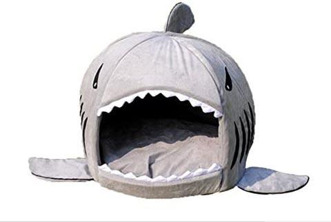 KAMIER Shark Pet bed