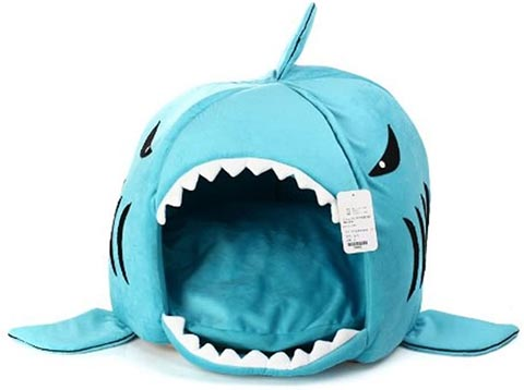 KOJIMA Cat Shark Bed