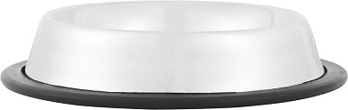 Loving Pets Stainless Steel No Tip Pet Bowl