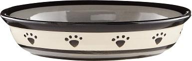 PetRageous Designs Ceramic Cat Dish