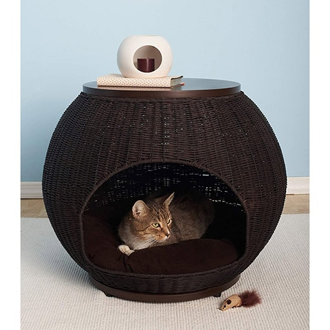 The Refined Canine Igloo Cat Bed