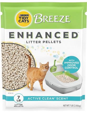 Tidy Cats Breeze Cat Litter Enhanced Pellets Refill