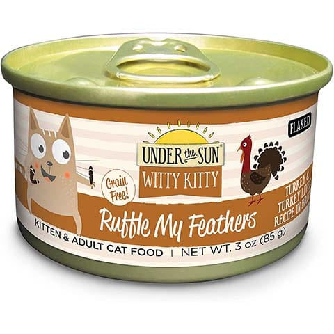 Under the Sun Witty Kitty- Ruffle My Feathers Grain Free Wet Cat Food