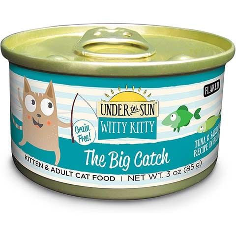 Under the Sun Witty Kitty- The Big Catch Grain Free Wet Cat Food