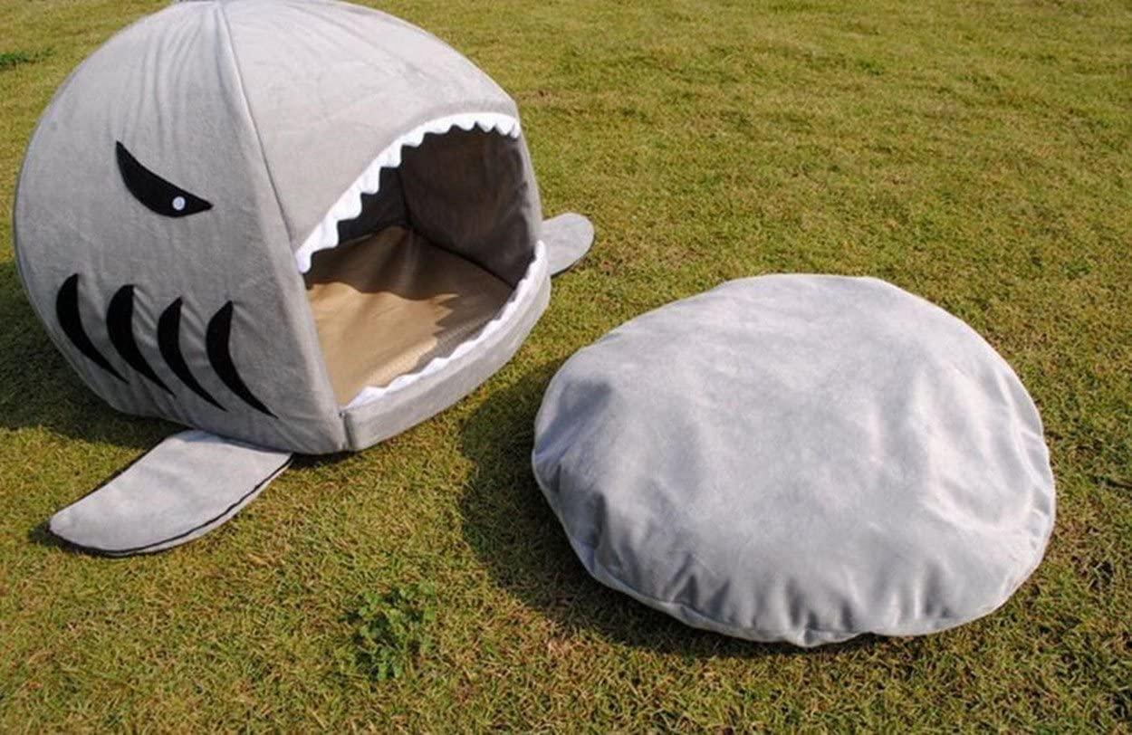 actual use of KAMIER Shark Pet bed