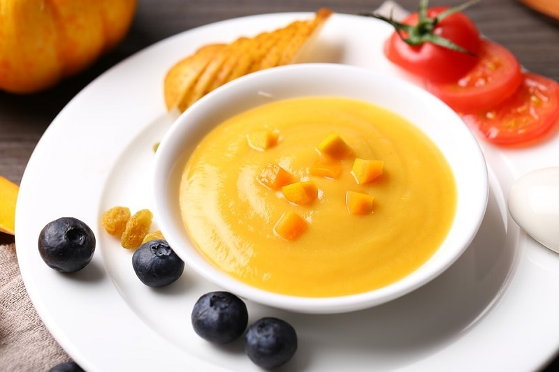 baby food soup