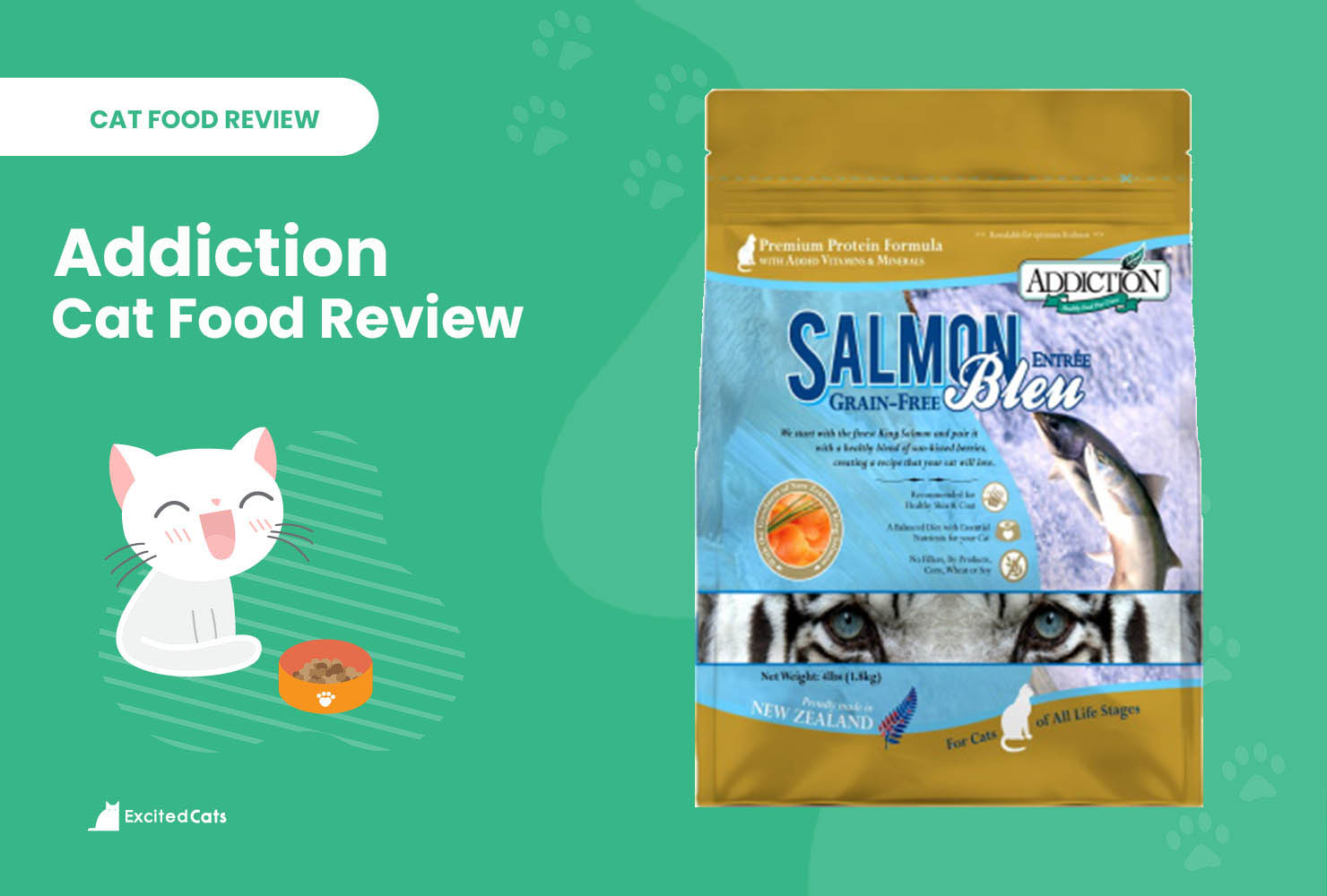 Addiction Cat Food review