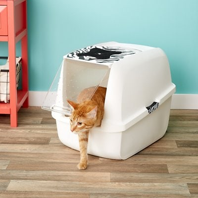 Catit Large Style Hooded Cat Pan