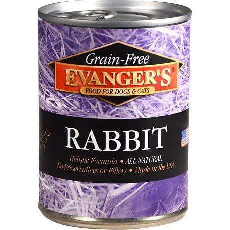 Evanger's Grain-Free Rabbit Canned Dog & Cat Food
