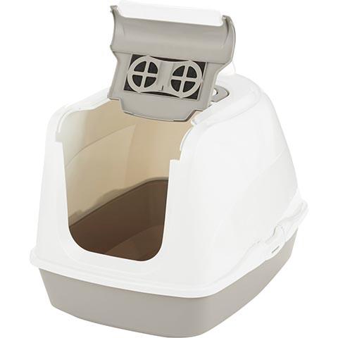Frisco Flip Top Hooded Cat Litter Box