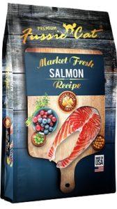 Fussie Cat Market Fresh Salmon Recipe Grain-Free Dry Cat Food