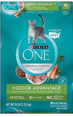 Purina ONE Indoor Advantage Adult Dry Cat Food