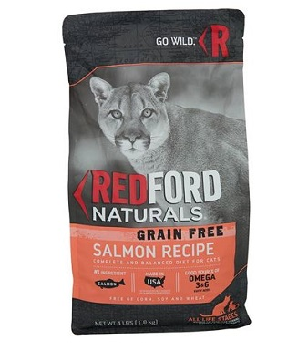 Redford Naturals Grain Free Salmon Recipe Adult Cat Food
