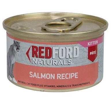 Redford Naturals Kitten Salmon Recipe Cat Food
