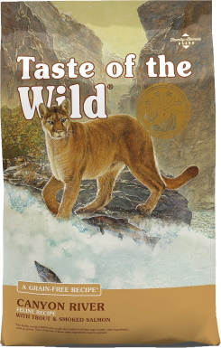 Taste of the Wild Canyon River cat food_Chewy
