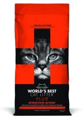 World's Best Cat Litter Attraction Action