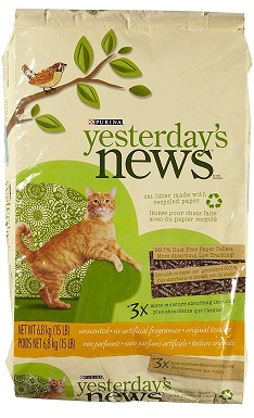 YESTERDAY'S NEWS PRODUCTS 702303 Yesterday's News Cat Litter
