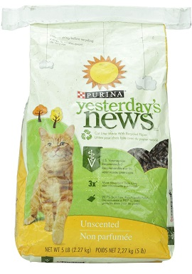 Yesterday's News Original Cat Litter - Unscented